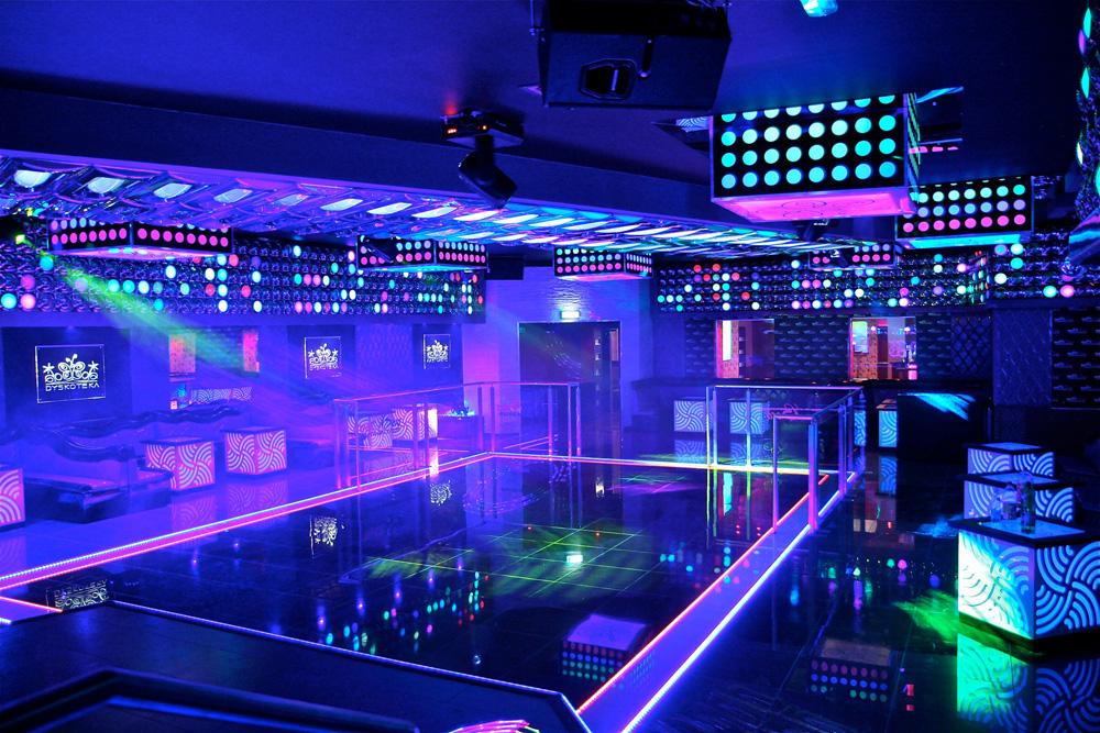 Видеонаблюдение для ночного клуба