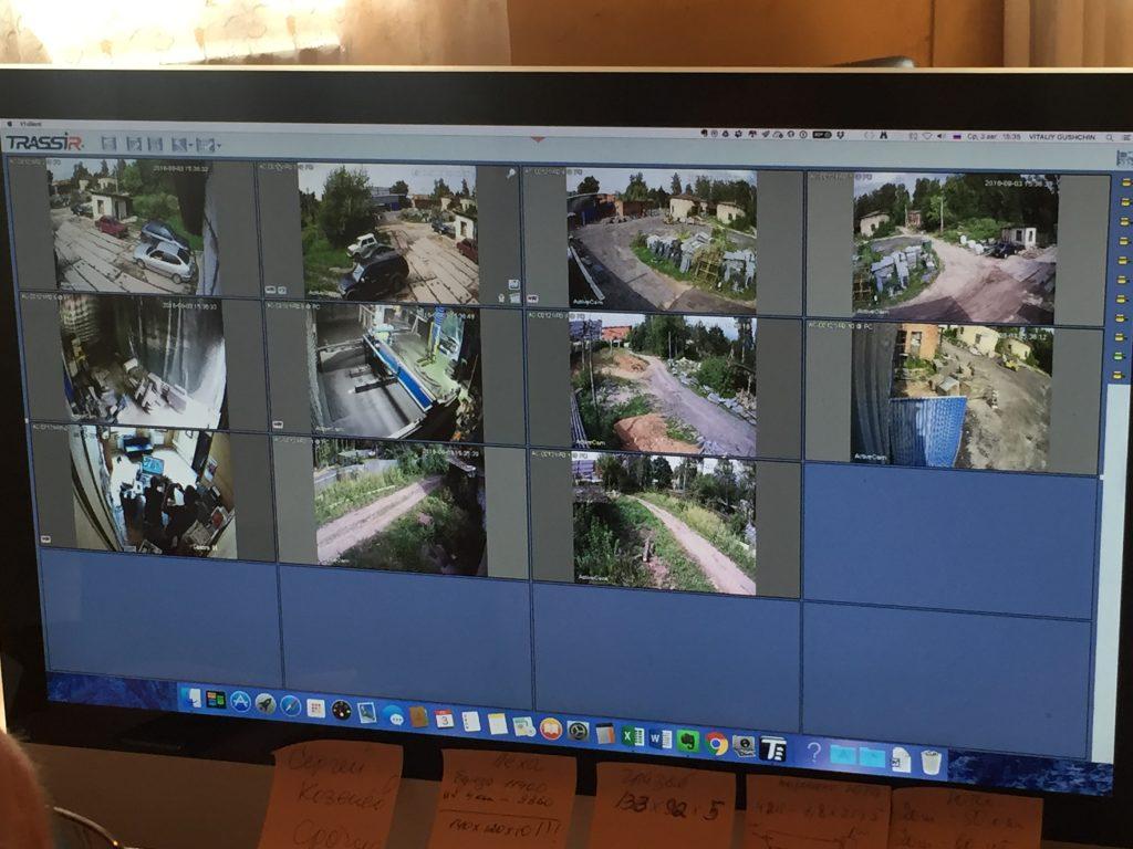 Комплект видеонаблюдения на 8 камер