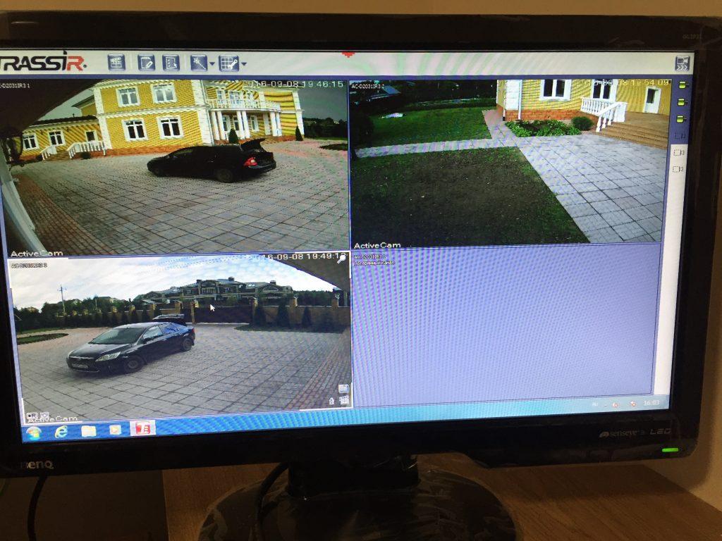 Подключение и настройка видеонаблюдения