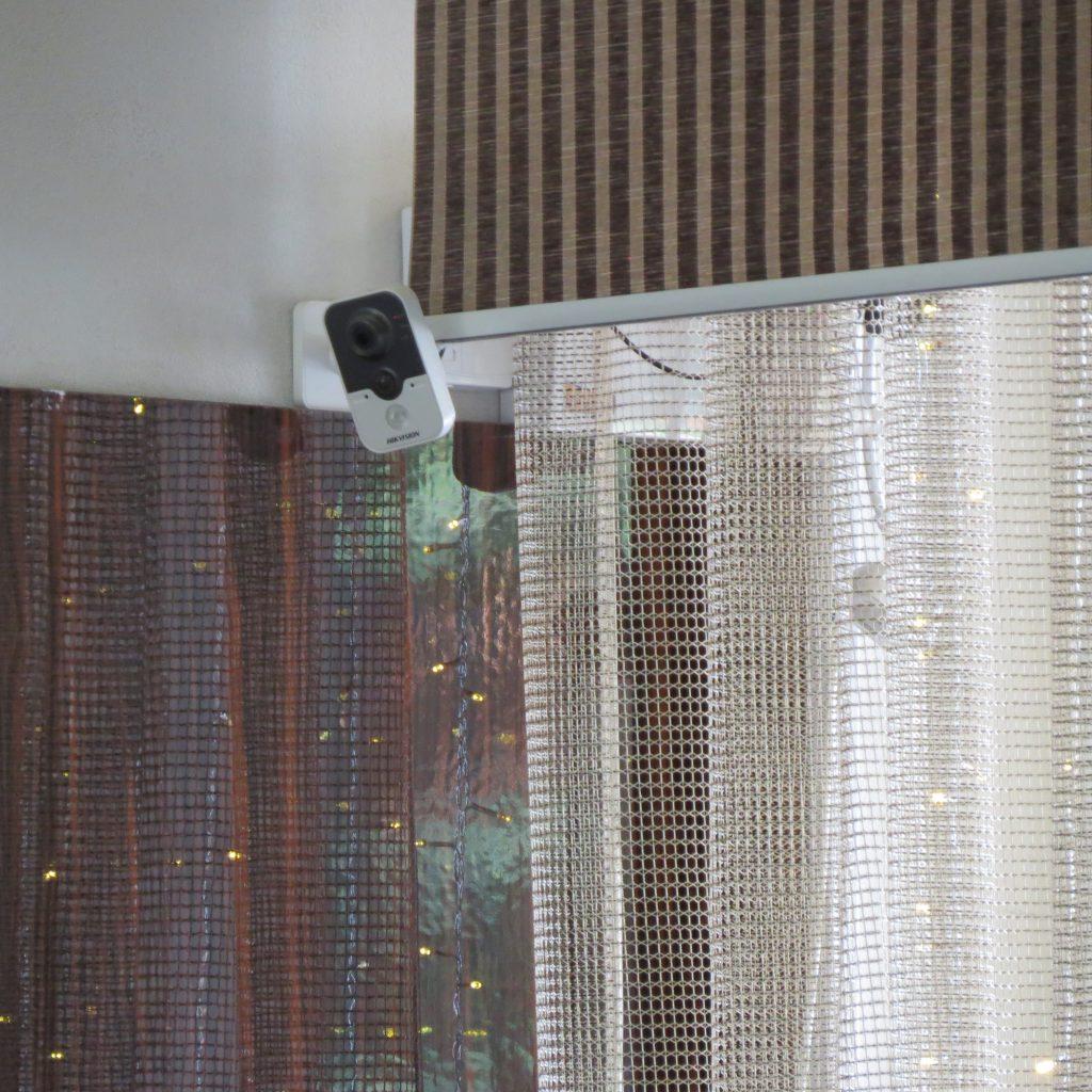 Видеонаблюдение за няней в квартире