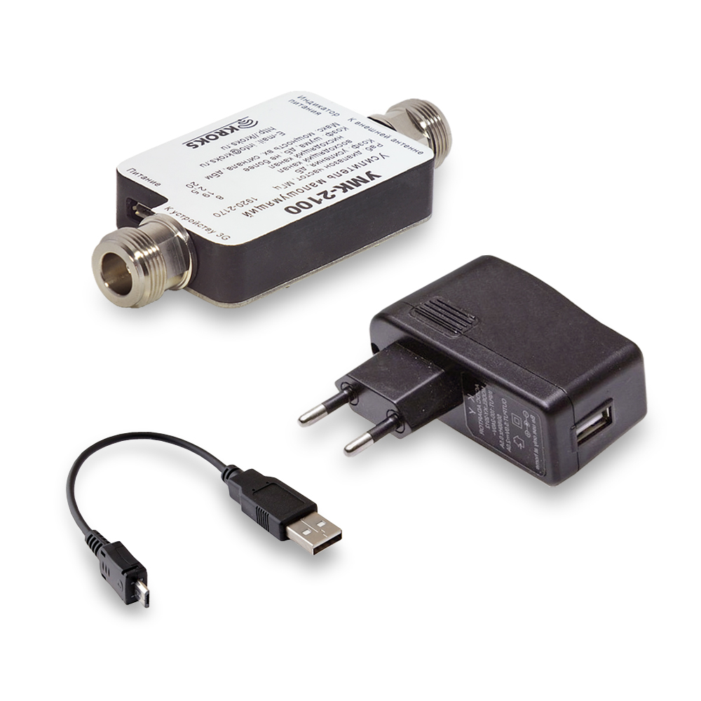 Фото 3 - Малошумящий антенный 3G усилитель УМК-2100 для 3G модема.