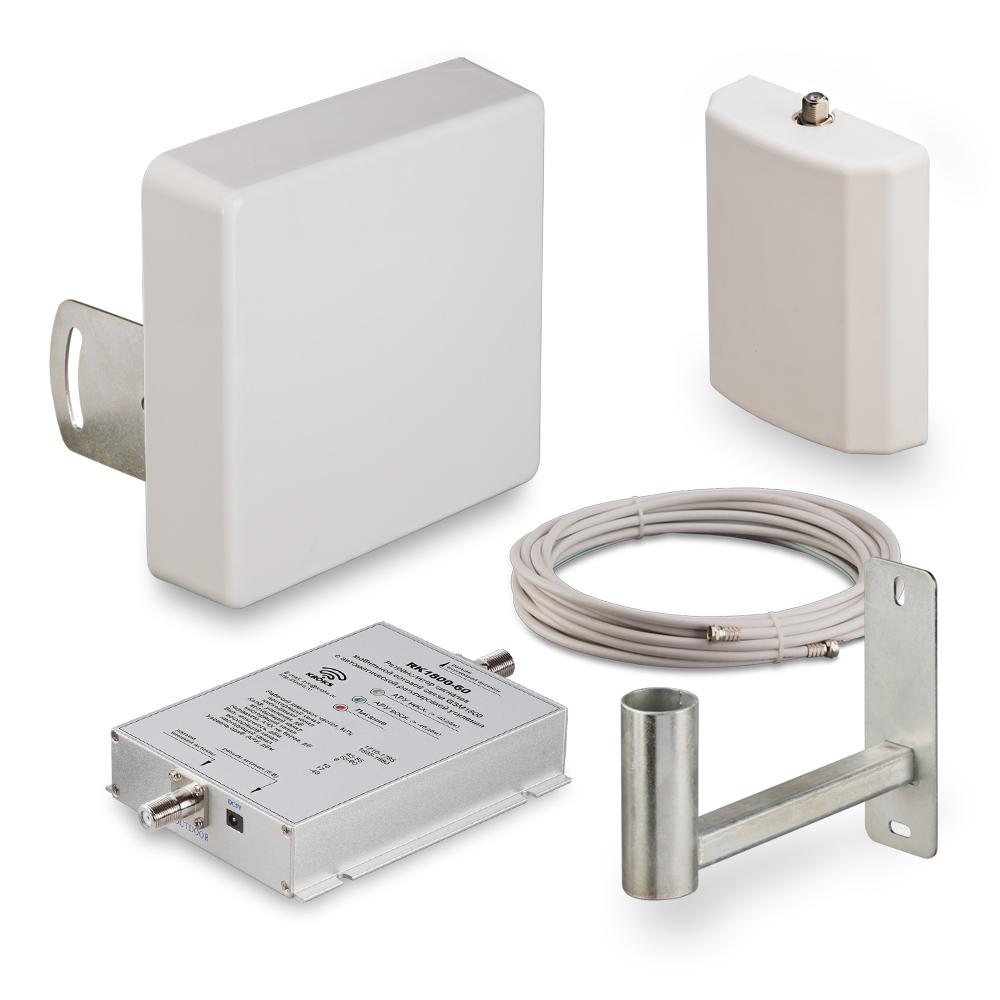 Фото 3 - Комплект усиления GSM 1800 сигнала сотовой связи KRD-1800.