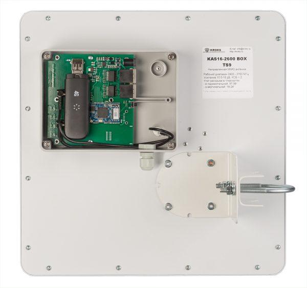 Фото 1 - Направленная 4G MIMO антенна KAS16-2600 BOX.