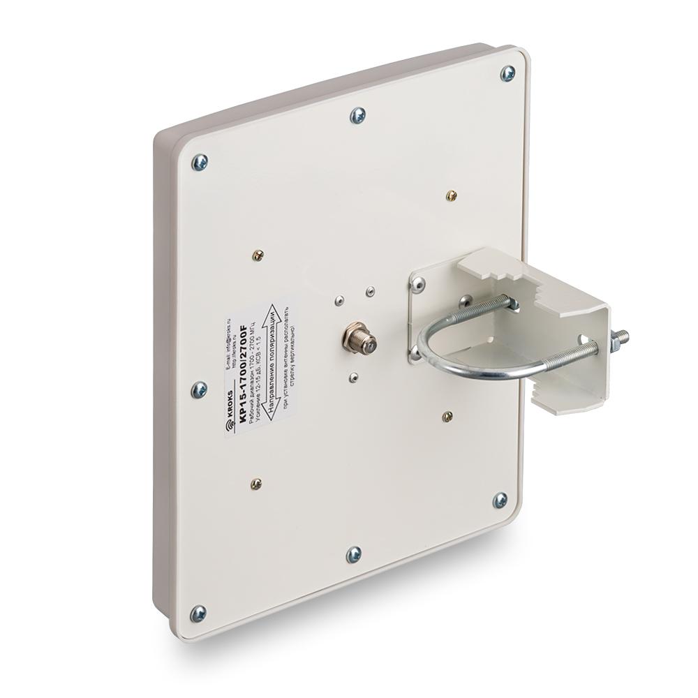 Широкополосная 3G/4G антенна усилением 15 дБ KP15-1700/2700