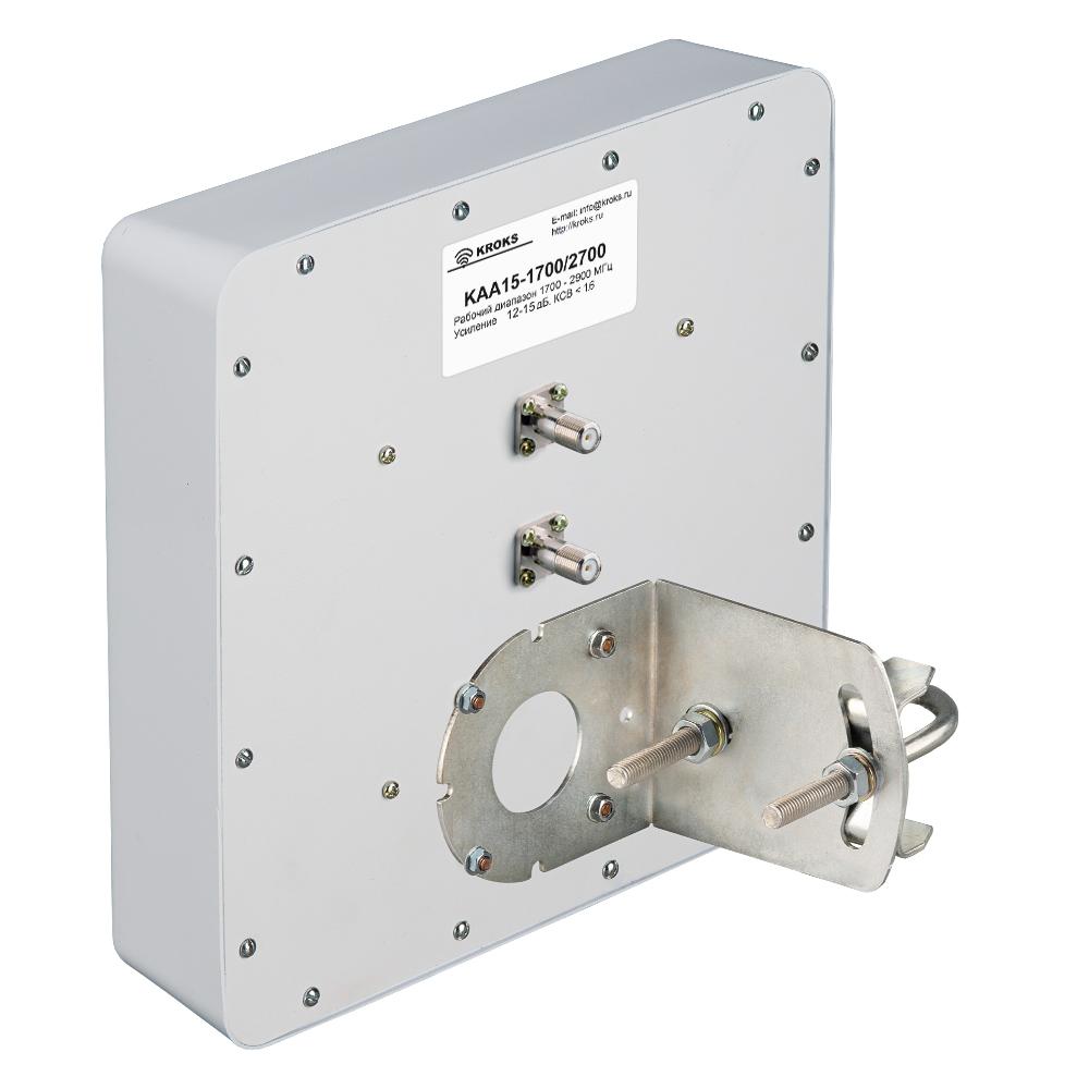 Широкополосная антенна 3G/4G MIMO KAA15-1700/2700 усилением 15 дБ