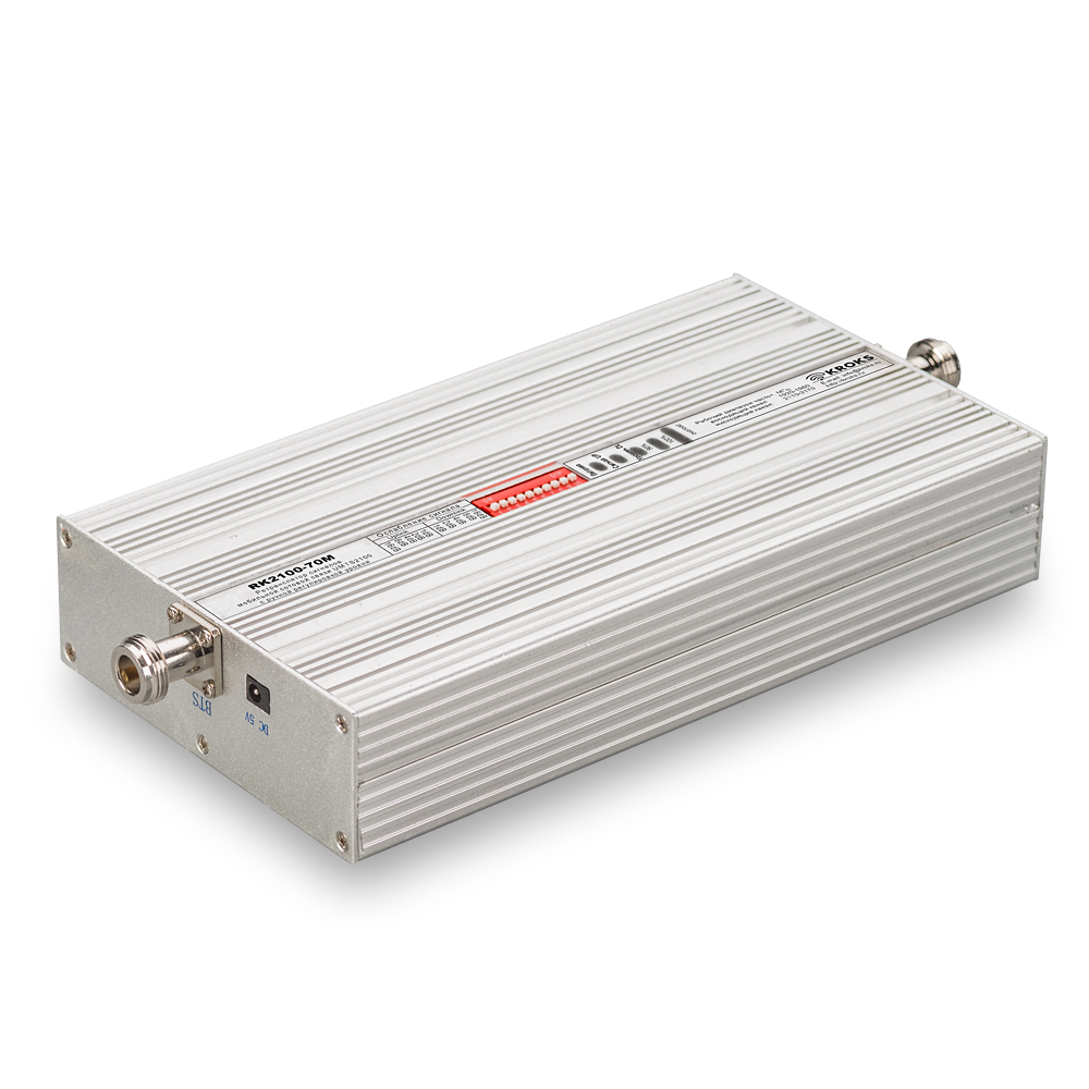3G репитер UMTS2100 RK2100-70M-N с ручной регулировкой уровня