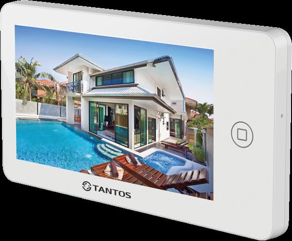 Фото 1 - Видеодомофон Tantos NEO GSM (white).
