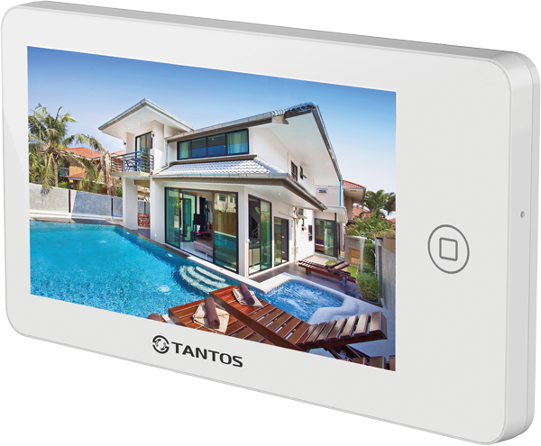 Фото 10 - Видеодомофон Tantos NEO GSM (white).
