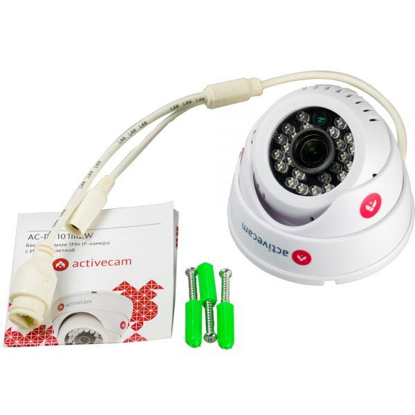 Фото 8 - ActiveCam AC-D8121IR2W. Внутренняя беспроводная 2Мп IP камера-сфера с ИК-подсветкой.