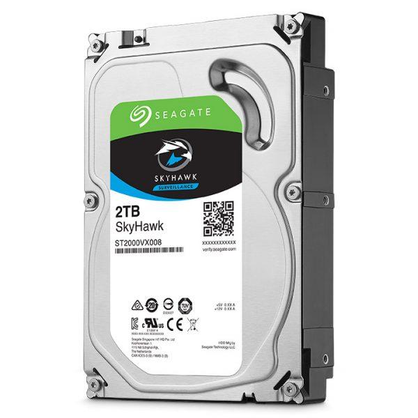 Фото 1 - Seagate ST2000VX008. Жесткий диск 2 ТБ серии SkyHawk для систем видеонаблюдения на базе TRASSIR.