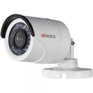 Фото 16 - HiWatch DS-T100. Уличный 720p HD-TVI мини-буллет с поддержкой стандарта CVBS и ИК-подсветкой.
