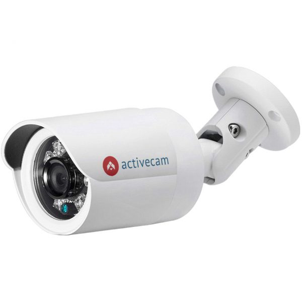 Фото 1 - ActiveCam AC-D2121WDIR3 + ПО TRASSIR в подарок. Уличная сетевая IP67 камера-цилиндр с Real WDR 120дБ и ИК-подсветкой.