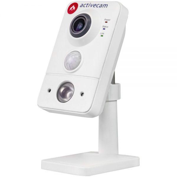 Фото 1 - ActiveCam AC-D7101IR1. Беспроводная сетевая Cube-камера серии Smart Home с ИК-подсветкой, microSD и PIR.