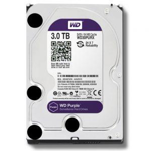 Фото 10 - Western Digital WD30PURZ. Жесткий диск 3 ТБ для систем видеонаблюдения на базе TRASSIR.