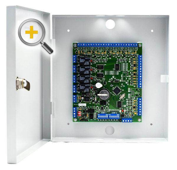 Фото 1 - Сетевой контроллер Sigur R500D4 до 7000 ключей, 500 временных зон и 40000 событий.