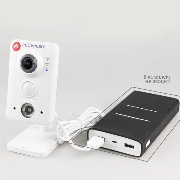Фото 6 - ActiveCam AC-D7101IR1. Беспроводная сетевая Cube-камера серии Smart Home с ИК-подсветкой, microSD и PIR.