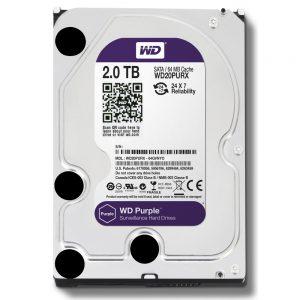 Фото 9 - Western Digital WD20PURZ. Жесткий диск 2 ТБ для систем видеонаблюдения на базе TRASSIR.