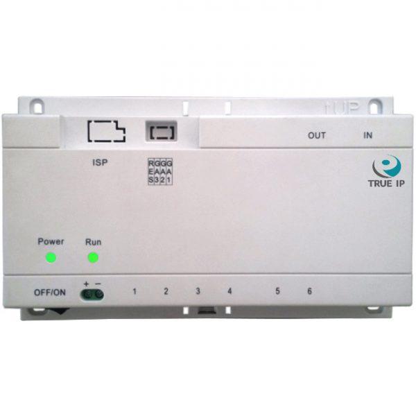 Фото 2 - PoE Swich TI-6SP. Коммутатор для питания до 6-и панелей/мониторов TRUE-IP.