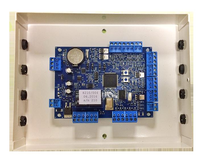 Фото 10 - Базовый универсальный контроллер Gate-8000 с энергонезависимой памятью.