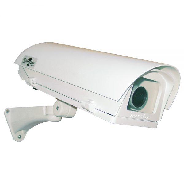 Фото 1 - Smartec STH-3230D-PSU1. Термокожух со встроенными обогревателями, солнцезащитным козырьком и настенным кронштейном для камер видеонаблюдения..