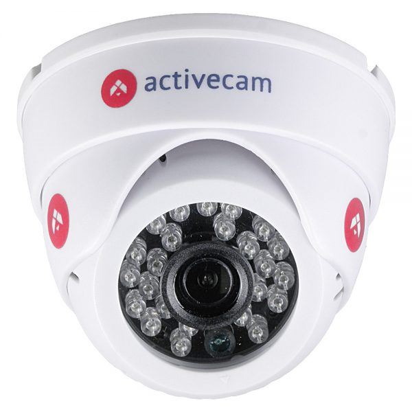 Фото 3 - ActiveCam AC-D8111IR2W. Внутренняя беспроводная 1.3Мп сферическая IP-камера с ИК-подсветкой.