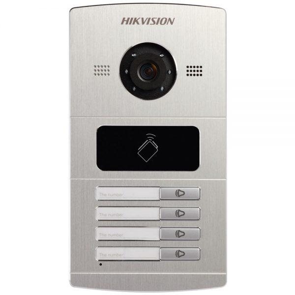 Фото 9 - HikVision DS-KV8X02-IM. Уличная IP вызывная панель с встроенной видеокамерой и LED-подсветкой для систем домофонии.