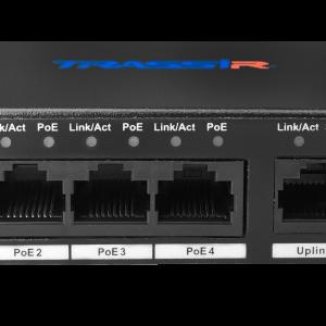 Фото 11 - TRASSIR TR-NS1006-60-4POE. Неуправляемый PoE-коммутатор с 4 PoE-портами (до 250 м).
