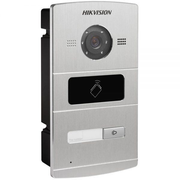 Фото 3 - HikVision DS-KV8X02-IM. Уличная IP вызывная панель с встроенной видеокамерой и LED-подсветкой для систем домофонии.