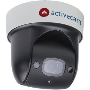 Фото 53 - Камера видеонаблюдения с зумом поворотная ActiveCam AC-D5123IR3 + ПО TRASSIR в подарок. 2Мп IP SpeedDome с ИК-подсветкой, x4 зумом и PoE+.