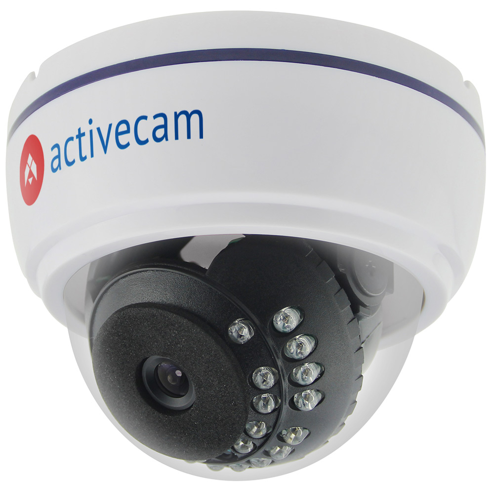 Фото 2 - ActiveCam AC-TA361IR2. Мультистандартная 720p аналоговая миникупольная камера.