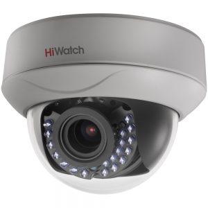 Фото 39 - HiWatch DS-T207. Купольная 1080p HD-TVI камера с вариофокальным объективом.