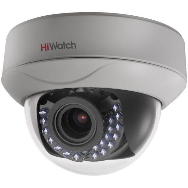 Фото 1 - HiWatch DS-T207. Купольная 1080p HD-TVI камера с вариофокальным объективом.