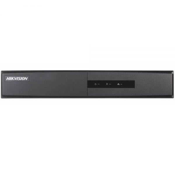 Фото 1 - Гибридный видеорегистратор Hikvision DS-7208HGHI-F1 с подключением до 8 аналоговых/HD-TVI/AHD и до 2 IP-камер 2Мп.