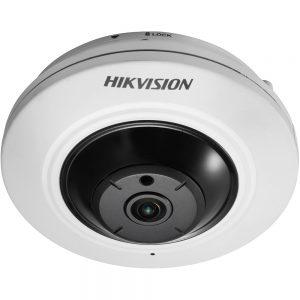 Фото 10 - HikVision DS-2CD2942F + ПО TRASSIR в подарок. 4Мп компактная купольная сетевая FishEye -камера..