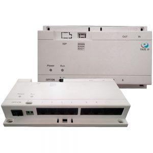 Фото 5 - PoE Swich TI-6SP. Коммутатор для питания до 6-и панелей/мониторов TRUE-IP.