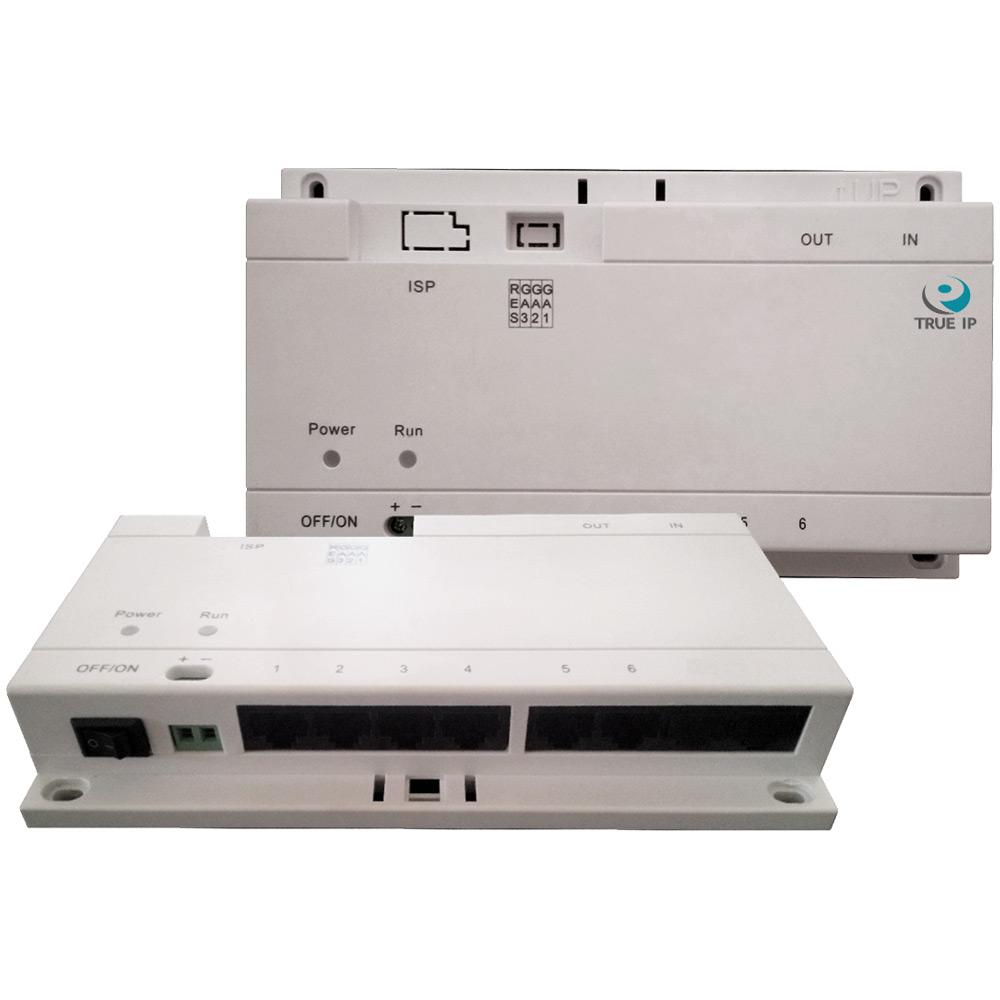 Фото 7 - PoE Swich TI-6SP. Коммутатор для питания до 6-и панелей/мониторов TRUE-IP.