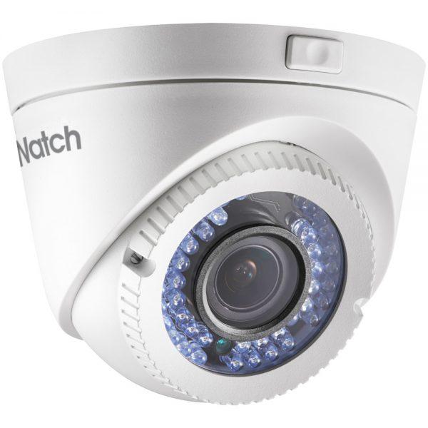 Фото 1 - HiWatch DS-T119. Уличная 1.3Мп HD-TVI камера-сфера с поддержкой стандарта CVBS и вариофокальным объективом.