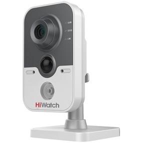 Фото 2 - HiWatch DS-I114. Бюджетная сетевая Cube-камера с ИК-подсветкой.