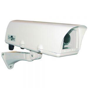 Фото 81 - Smartec STH-1230D. Термокожух с 2 встроенными обогревателями, солнцезащитным козырьком и настенным кронштейном для камер видеонаблюдения..