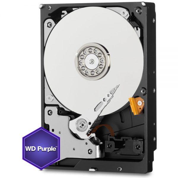 Фото 2 - Western Digital WD20PURZ. Жесткий диск 2 ТБ для систем видеонаблюдения на базе TRASSIR.