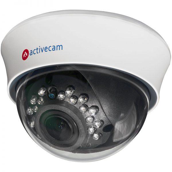 Фото 1 - ActiveCam AC-D3103IR2. Внутренняя купольная IP-камера с вариообъективом и ИК-подсветкой.