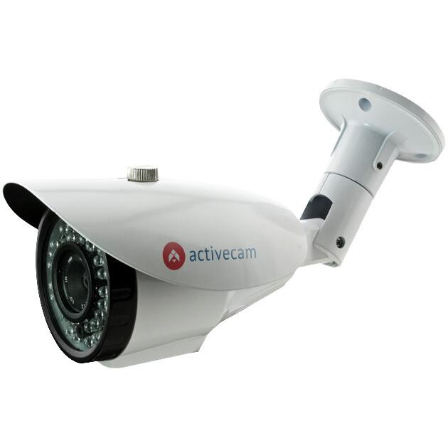 Фото 1 - ActiveCam AC-D2113IR3. Уличная IP камера-цилиндр серии Eco с ИК-подсветкой и вариофокальным объективом.