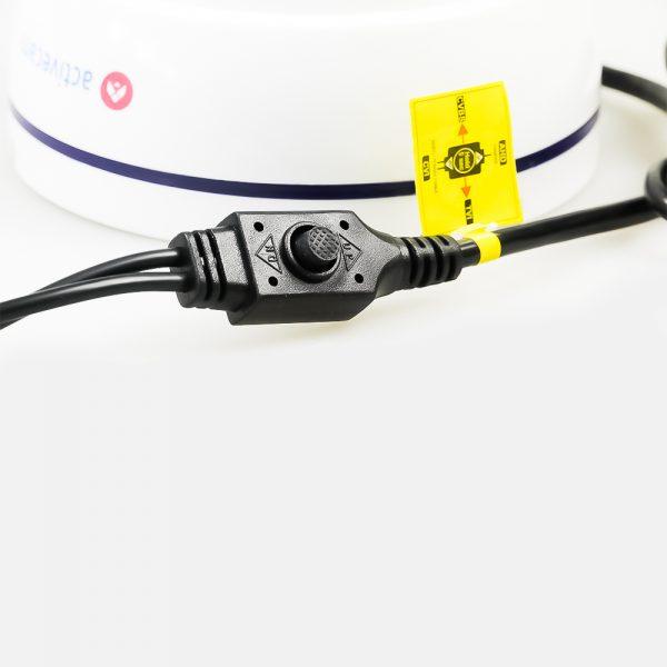 Фото 3 - ActiveCam AC-TA381LIR2. Мультистандартная 1080p аналоговая миникупольная камера.