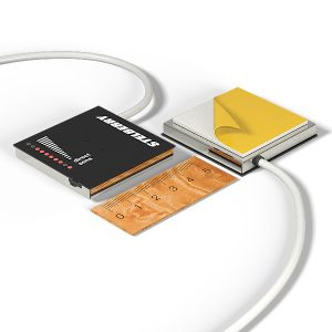 Фото 3 - Stelberry M-1100 – активный двунаправленный микрофон с регулировкой чувствительности и направленности для записи переговоров между сотрудниками и клиентами.
