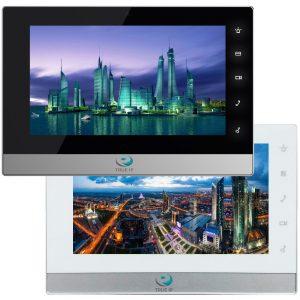 """Фото 6 - TRUE-IP TI-2750BS(WS). 7"""" IP-монитор для систем домофонии с емкостным экраном и сенсорными кнопками."""