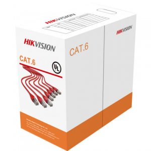 Фото 3 - Hikvision DS-1LN6-UU: кабель UTP CAT6e, 4 пары, бухта 305 м.