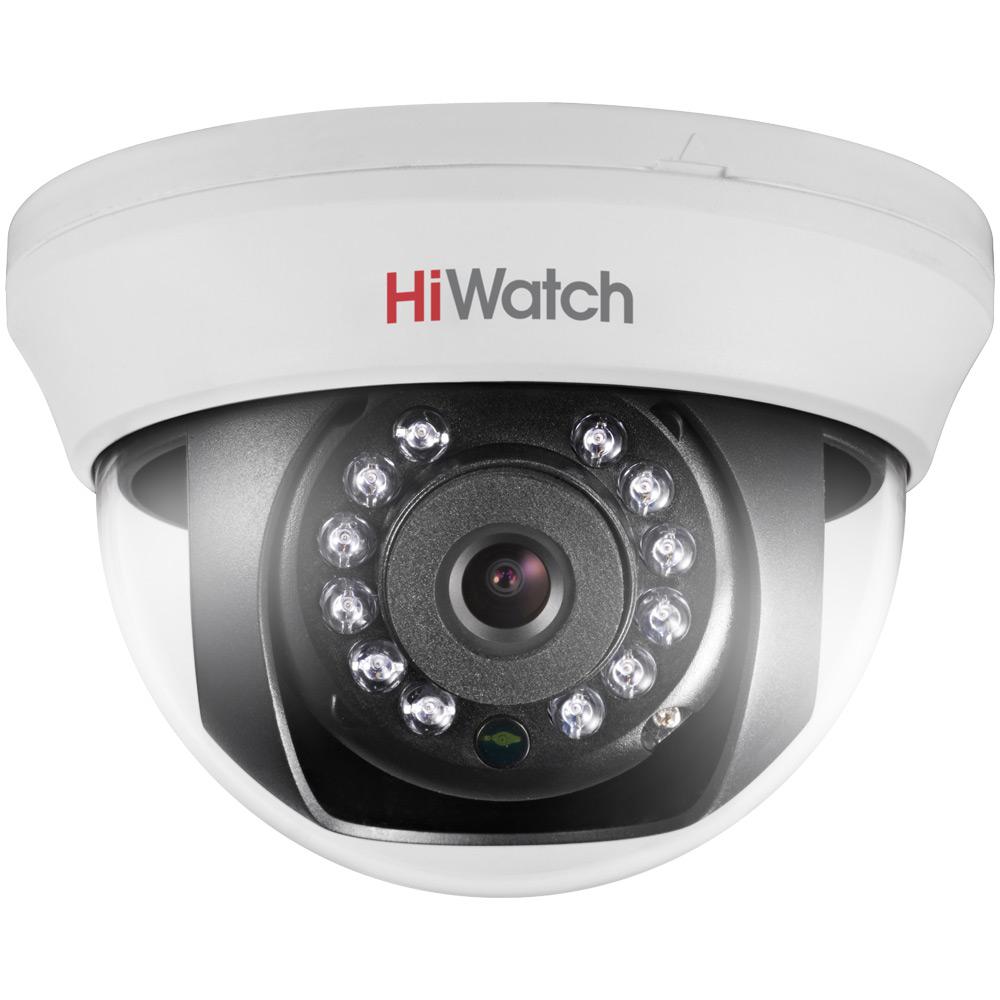 Фото 5 - HiWatch DS-T101. 720p купольная HD-TVI видеокамера с поддержкой стандарта CVBS.