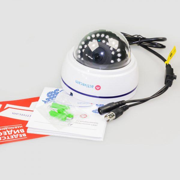 Фото 4 - ActiveCam AC-TA361IR2. Мультистандартная 720p аналоговая миникупольная камера.