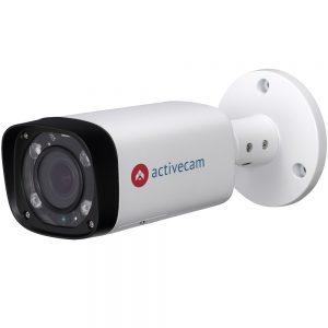 Фото 3 - ActiveCam AC-D2143ZIR6 + ПО TRASSIR в подарок. Уличная 4Мп сетевая камера-цилиндр с motor-zoom и ИК-подсветкой.