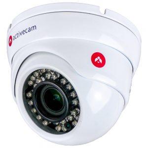 Фото 16 - ActiveCam AC-D8123ZIR3 + ПО TRASSIR в подарок. Уличная вандалозащищенная IP камера-сфера с моторизированным объективом.